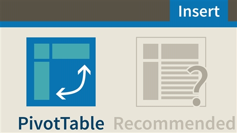 course illustration for Excel 2016: Pivot Tables in Depth