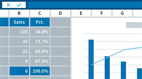 course illustration for Excel 2016: Charts in Depth