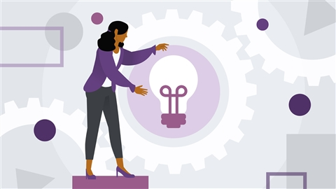 course illustration for Learning Design Thinking: Lead Change in Your Organization
