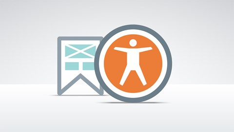 course illustration for Foundations of UX: Accessibility