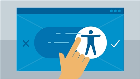 course illustration for UX Foundations: Accessibility