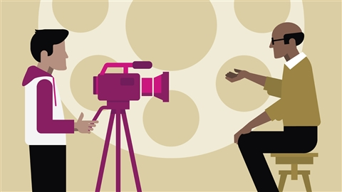 course illustration for Introduction to Documentary Video Storytelling