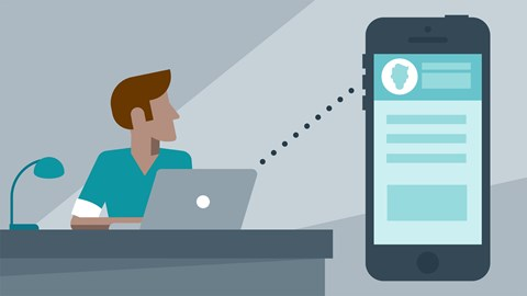course illustration for Xcode 7 Essential Training