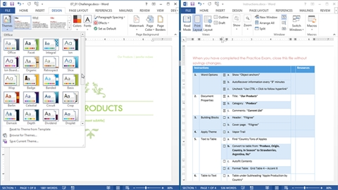 course illustration for Cert Prep: Word 2013 Microsoft Office Specialist (77-418)