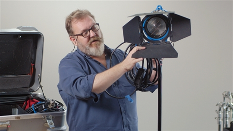 course illustration for Video Lighting and Grip Basics