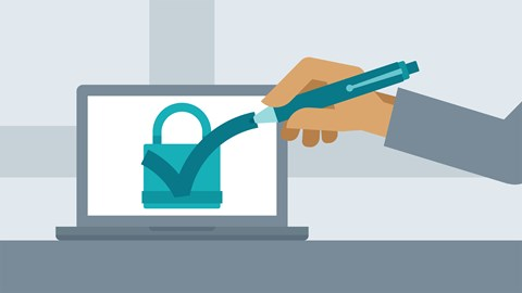 course illustration for Windows 10: Security