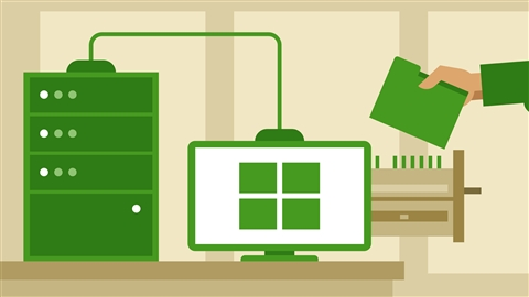 course illustration for Windows Server 2012 R2: Configure File and Storage Solutions