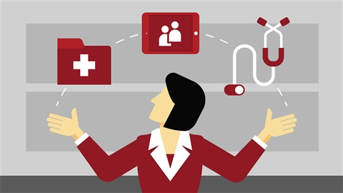 course illustration for Project Management: Healthcare Projects