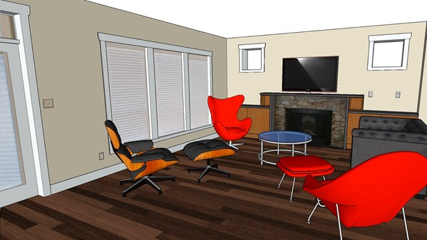 SketchUp: Modeling from Photos