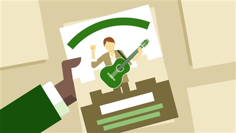course illustration for An Insider's Guide to Today's Music Biz: 6 Marketing and Promotion