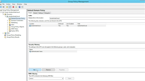 course illustration for Windows Server 2012 R2: Manage Group Policy
