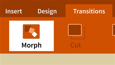 course illustration for Office 365 PowerPoint New Features: Designer and Morph