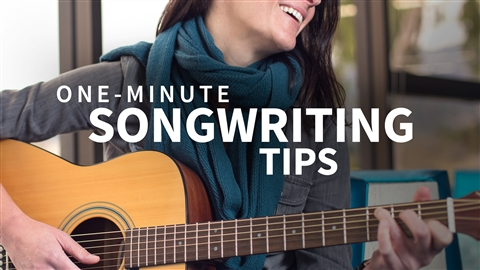 course illustration for One-Minute Songwriting Tips