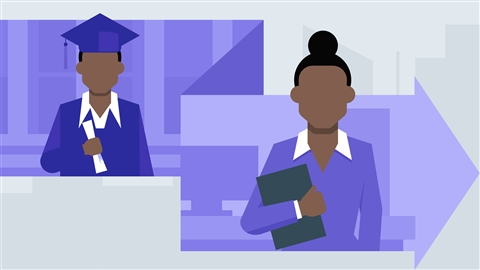 course illustration for Turning an Internship into a Job