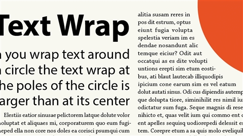 course illustration for InDesign: Typography Part 2
