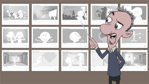 course illustration for Animation Foundations: Storyboarding