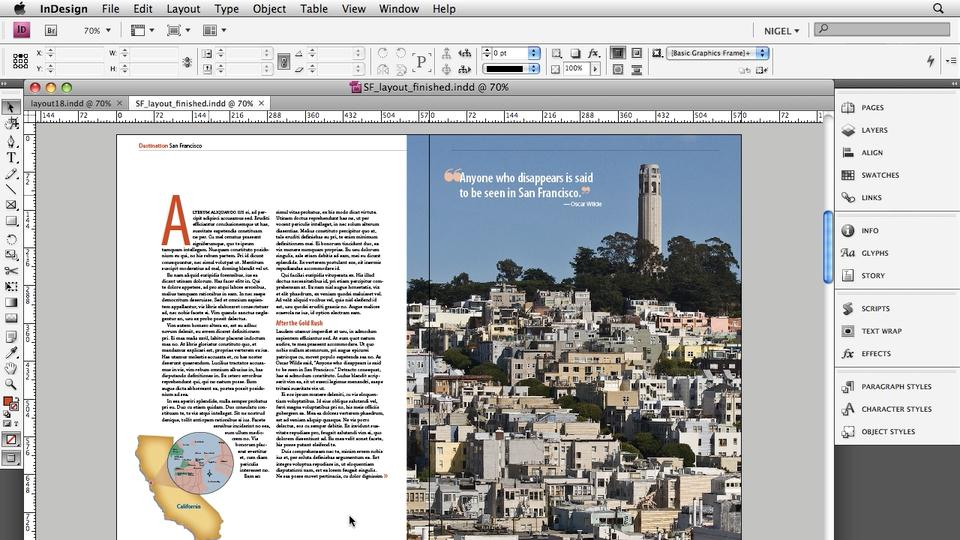 Watch the Online Video Course Designing a Magazine Layout