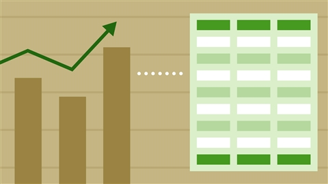 course illustration for Working with Real-Time Data in Excel