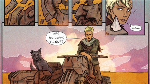 course illustration for Designing Dynamic Layouts with Text and Dialog in Comics