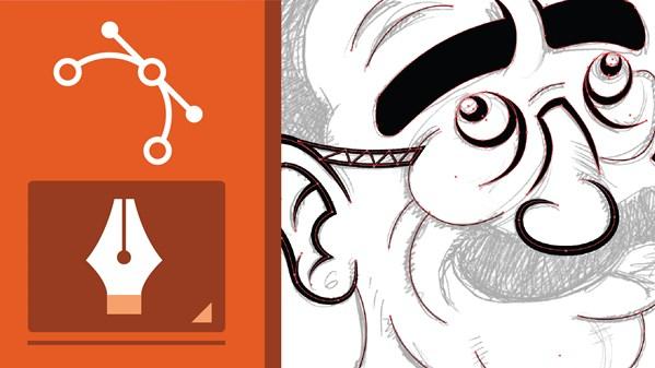 Line Art Converter Software : Adobe pen tool: mastery