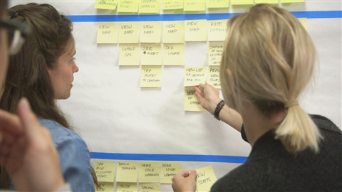 course illustration for Design Thinking: Implementing the Process