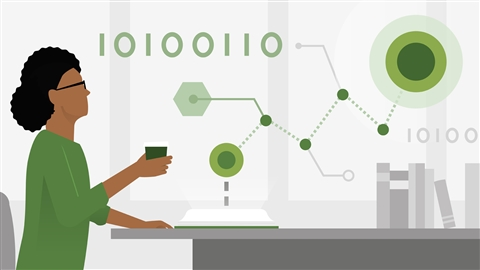 course illustration for Learning Data Science: Tell Stories With Data