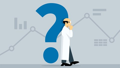 course illustration for Learning Data Science: Ask Great Questions