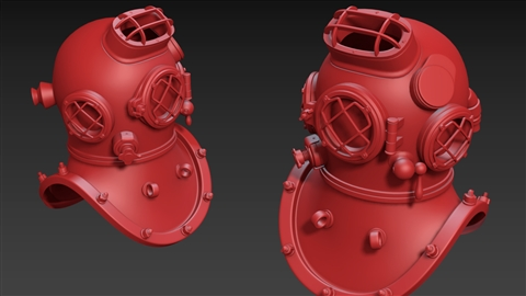 course illustration for 3ds Max: Hard Surface Modeling