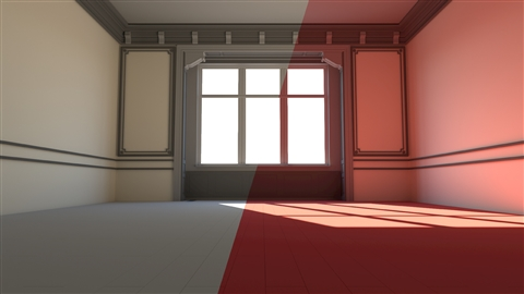 course illustration for V-Ray: Control Color Bleed in 3ds Max