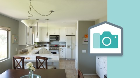 Real estate photography kitchens