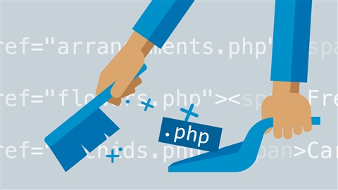 course illustration for PHP: Clean URLs on Apache Server