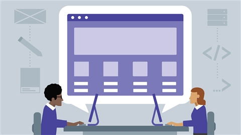 course illustration for Web Development Foundations: Full-Stack vs Front-End