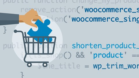 course illustration for WordPress Ecommerce: WooCommerce Plugins