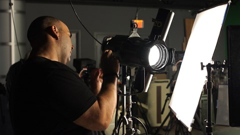 short course lights filmmaking online courses classes training tutorials on lynda