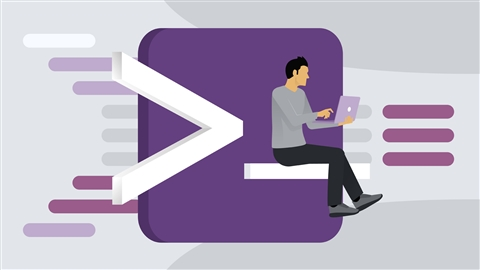 course illustration for Learning PowerShell