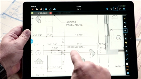 course illustration for Construction Drawings: BlueBeam for the iPad