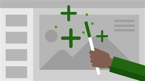 course illustration for PowerPoint 2016: Tips and Tricks