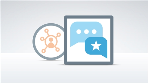 course illustration for Social Media Marketing with Facebook and Twitter