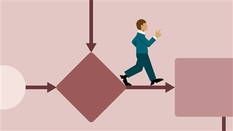 course illustration for Business Analysis Foundations: Business Process Modeling