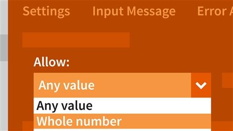 course illustration for Excel 2016: Data Validation in Depth