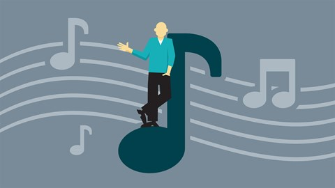 course illustration for Insights from a Professional Songwriter