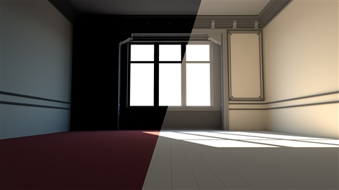 course illustration for V-Ray: Control Color Bleed in Blender