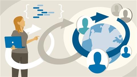 course illustration for Agile Software Development: Remote Teams