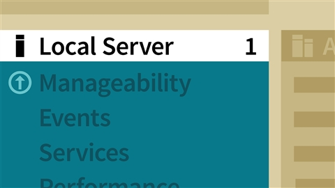 course illustration for Windows Server 2016: Manage, Monitor, and Maintain Servers