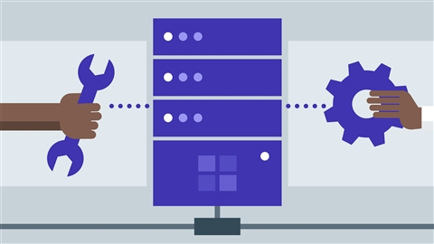 course illustration for Windows Server 2016: Installation and Configuration