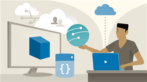 course illustration for Azure Administration Essential Training