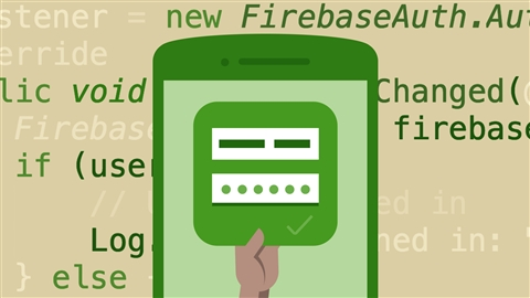 course illustration for Google Firebase for Android: First Look