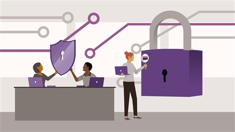course illustration for Cybersecurity for IT Professionals