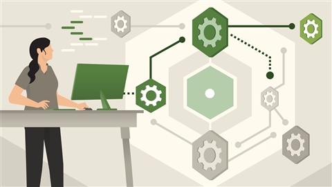 course illustration for Node.js: Microservices