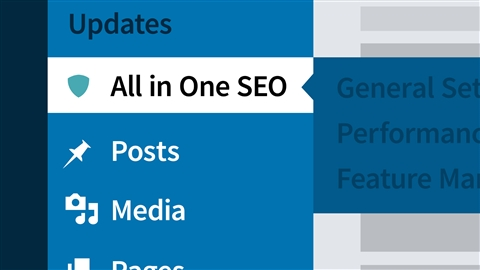 course illustration for WordPress: SEO